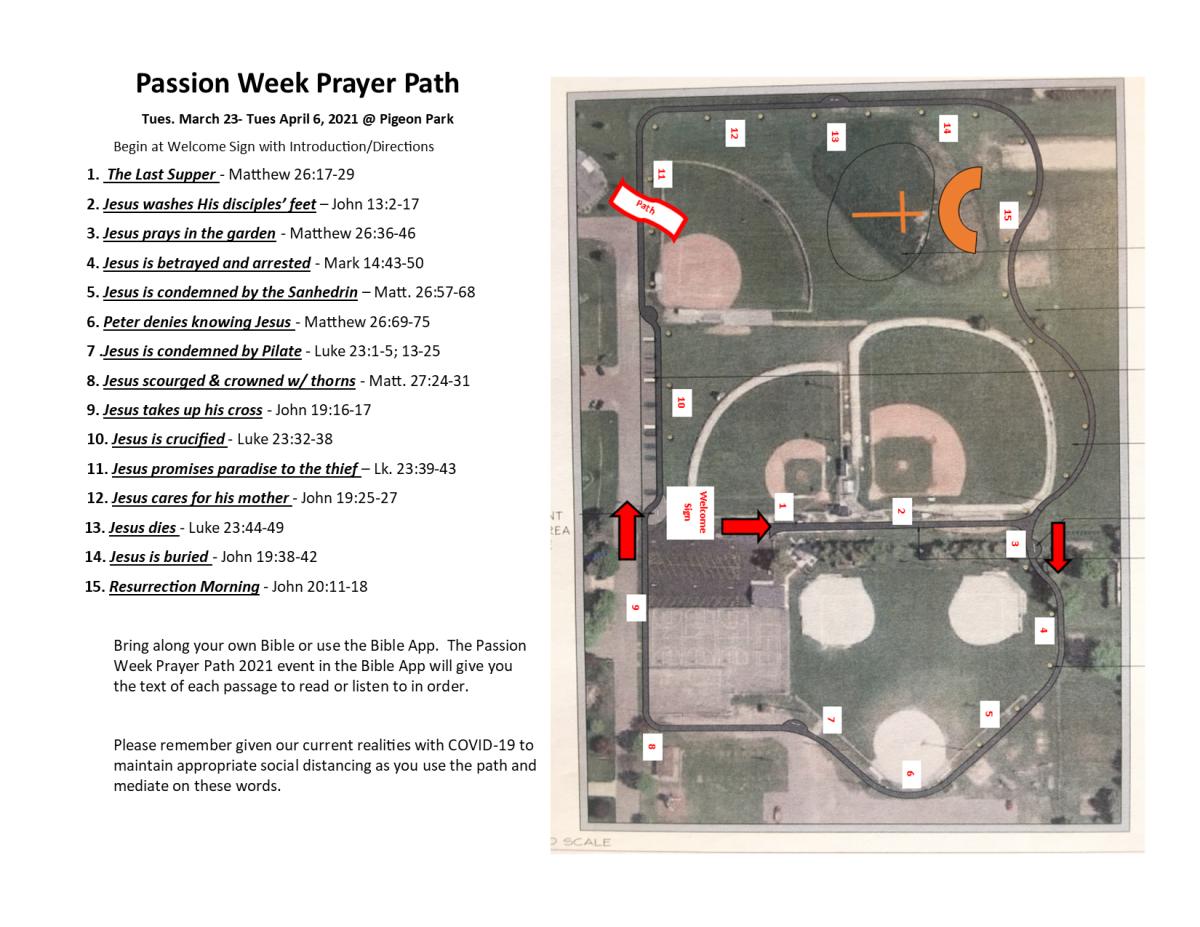 Passion Week Prayer Path2021